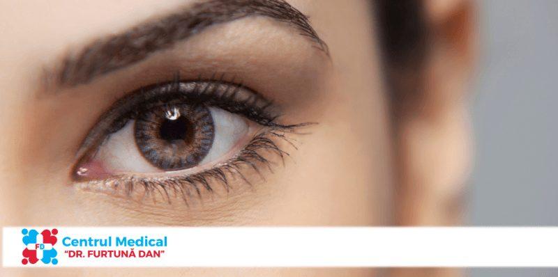 Sindromul de ochi uscat.