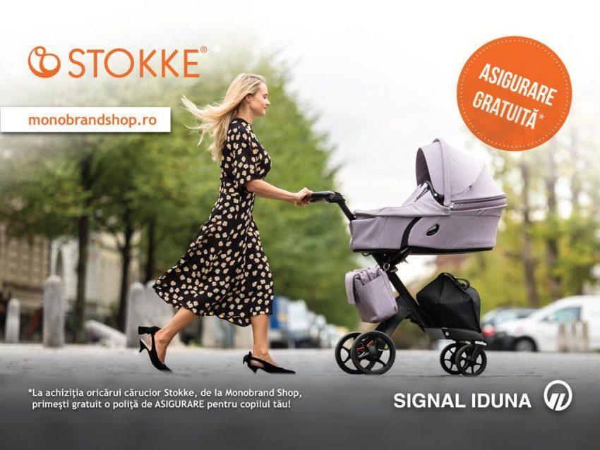 Asigurare gratuita pentru copilul tau la achiziționarea oricărui cărucior Stokke!