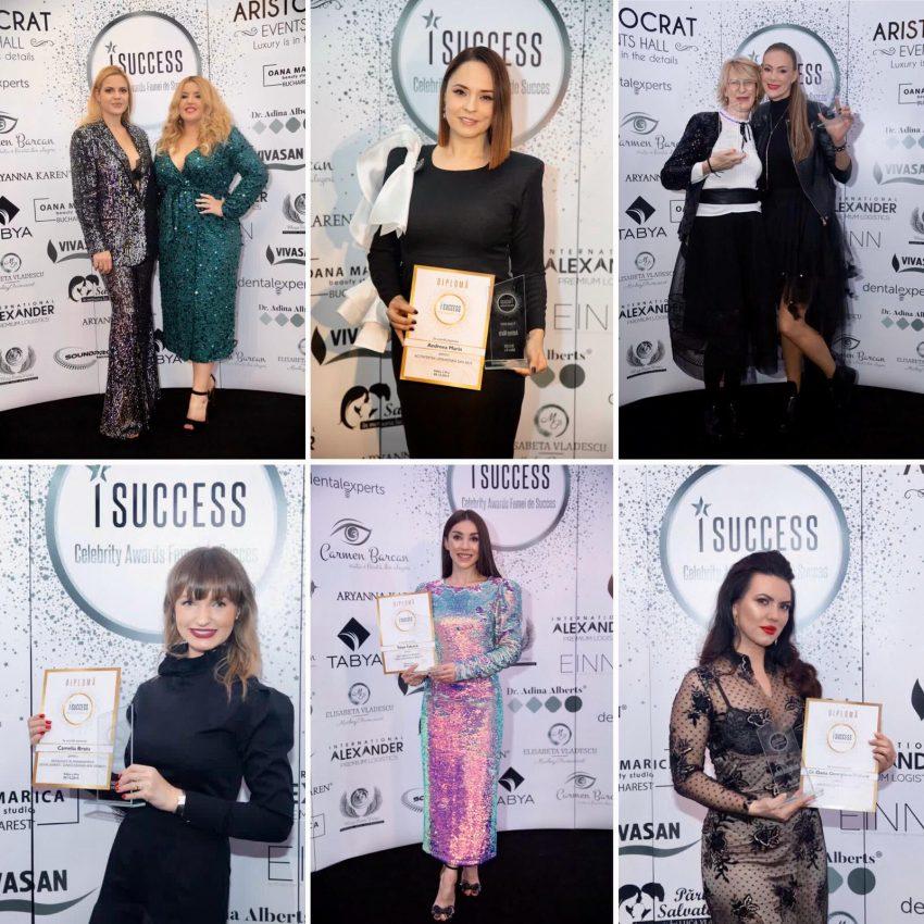Femeile de succes din România au fost premiate la Gala I Success Celebrity Awards 2019