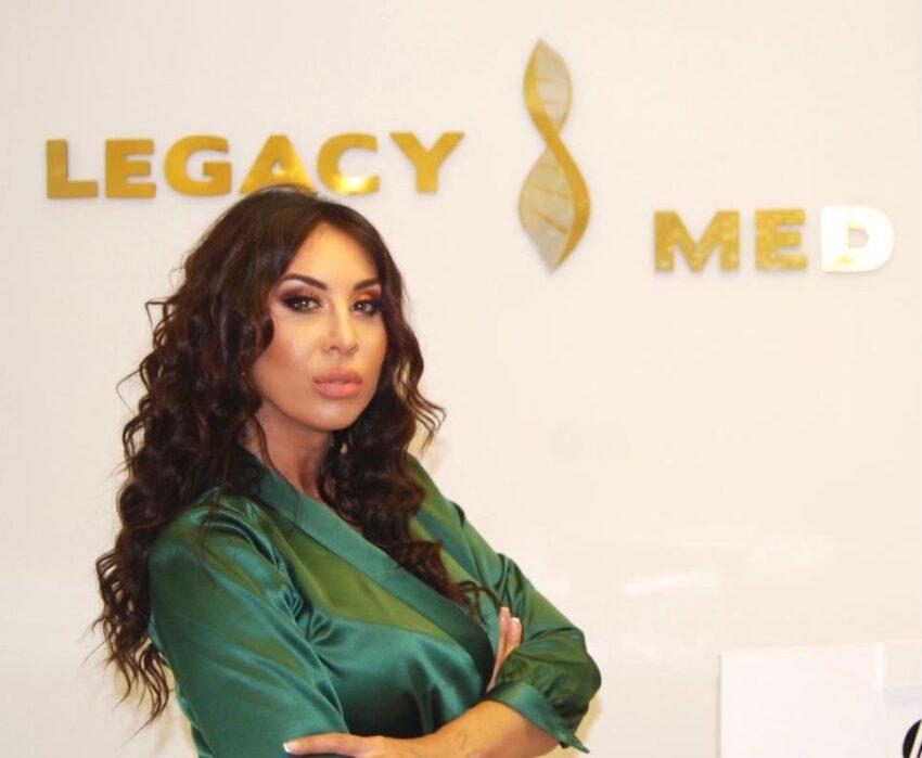 "Simona Chițac a primit premiul pentru,,European Aesthetics Achievement of the Year"" – Legacy Med Anti-Aging & Aesthetic Clinic, la gala I Success Awards – Monaco Edition"